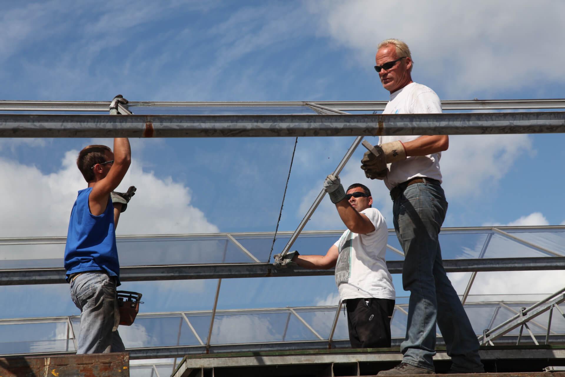 HTGreenhouses Hogervorst Tabben vacatures werken kassenbouwer