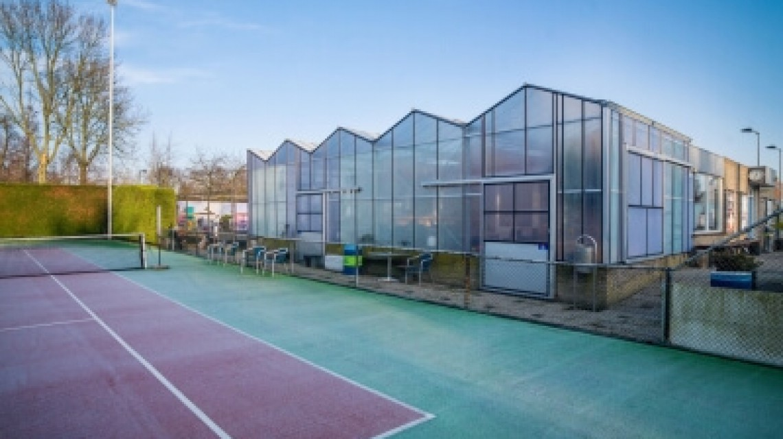 HTGreenhouses Hogervorst Tabben tennispark