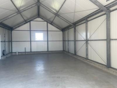 Kassenbouw project A kap schuur HT Greenhouses.2