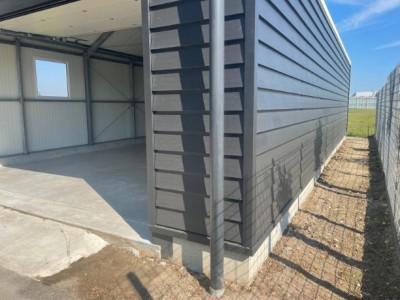 Kassenbouw project A kap schuur HT Greenhouses.3