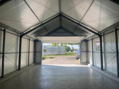 Kassenbouw project A kap schuur HT Greenhouses.4