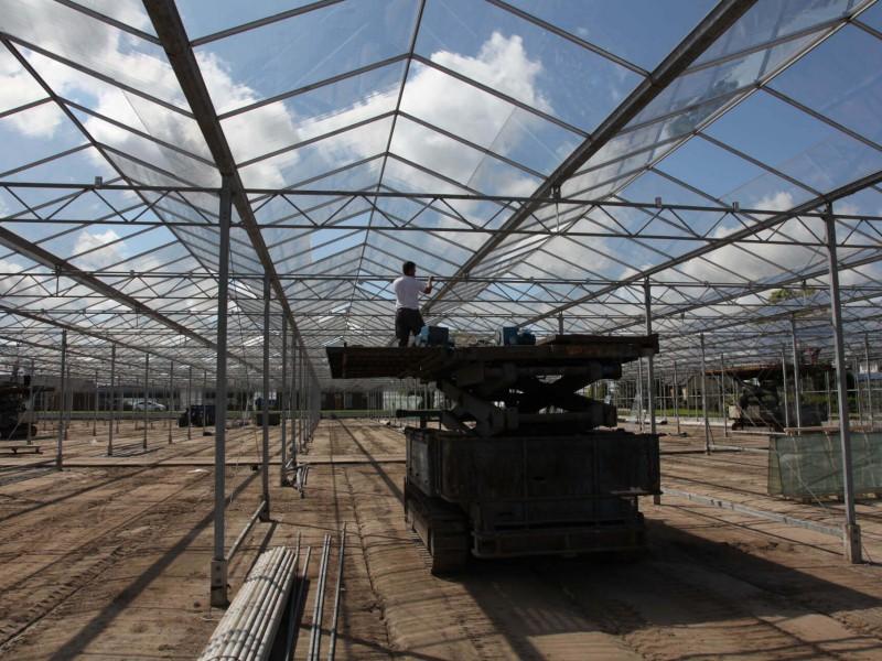 sloop Hogervorst Tabben HTgreenhouses kassenbouw sloop kasmaterialen